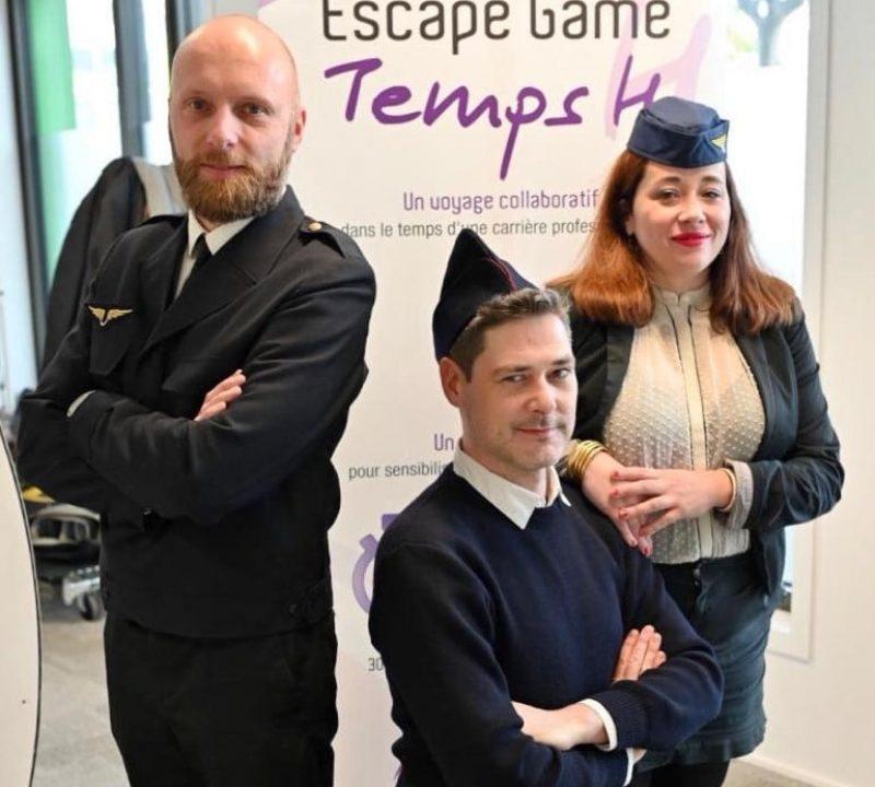 team building escape game handicap